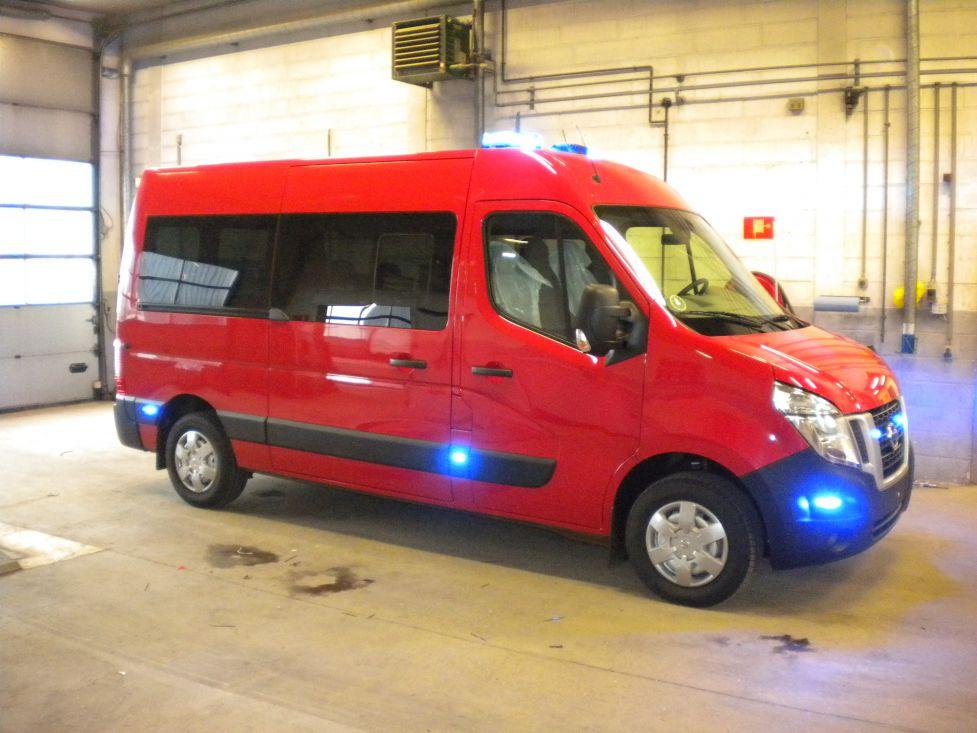Odense Auto-El Aps har monteret blink samt samtaleanlæg for Odense Brandvæsen